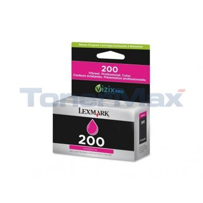 LEXMARK NO 200 RP INK CARTRIDGE MAGENTA